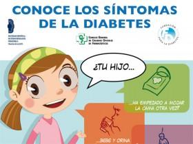 Conoce los síntomas de la diabetes. Campaña de sensibilización social para prevenir el diagnóstico de diabetes en cetoacidosis