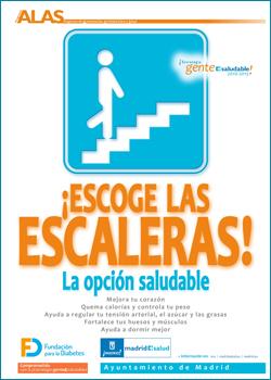 Campaña Escoge las escaleras.