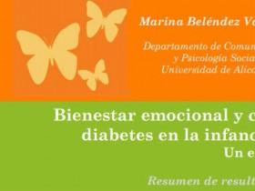 """Estudio """"Bienestar emocional y calidad de vida en la diabetes en la infancia y la adolescencia. Un estudio con padres e hijos"""""""
