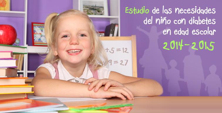 Estudio de las necesidades del niño con diabetes en edad escolar 2014-2015