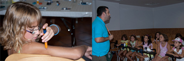 DiabCamp, becas para campamentos de verano