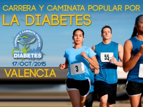Carrera y Caminata Popular por la Diabetes de Valencia