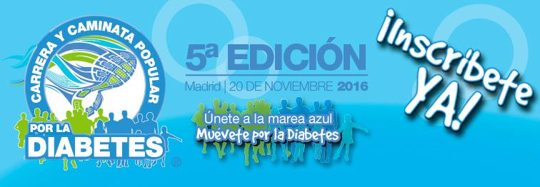 5ª Carrera y Caminata Popular por la Diabetes