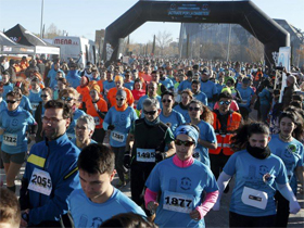 Carrera y caminata ¡Actívate por la Diabetes, Zaragoza!