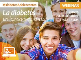 Webinar: la diabetes en los adolescentes