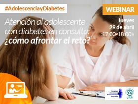 Webinar: Atención al adolescente con diabetes en consulta ¿Cómo afrontar el reto?