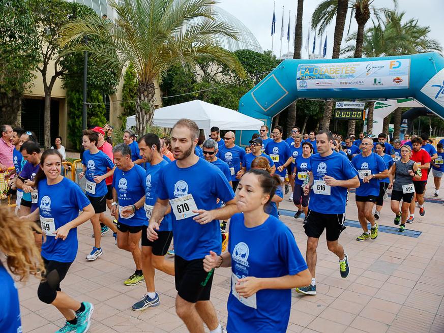 Carrera y Caminata por la Diabetes de Valencia