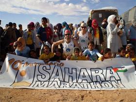 David Jiménez supera un nuevo reto: el Sahara–Marathon.