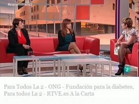 """La Fundación para la Diabetes en el programa """"Para Todos La 2"""""""