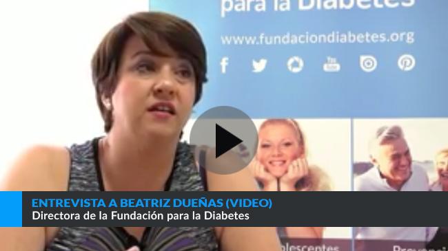 Enlace a entrevista a Beatriz Dueñas, Directora de la Fundación para la Diabetes