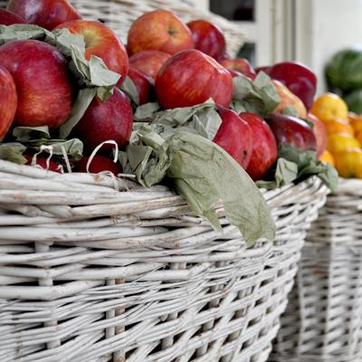 Cesto manzanas