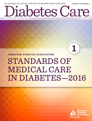 Estándares de la Atención Médica en Diabetes