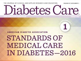 Recomendaciones sobre prevención. Estándares de Atención Médica en Diabetes. ADA 2016