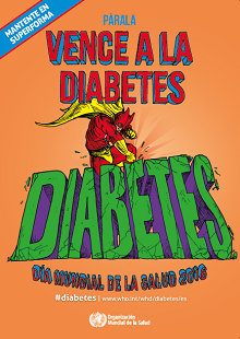 Detén el aumento de la diabetes. Vence la diabetes