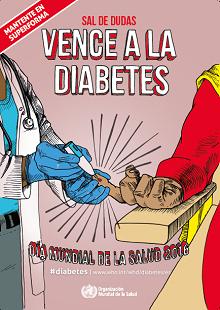 Ante la duda, consulta al profesional sanitario. Vence la diabetes