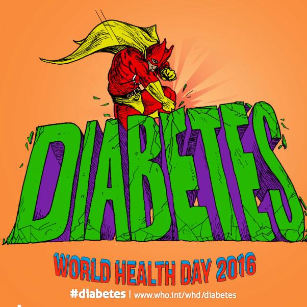 La diabetes, tema central del Día Mundial de la Salud 2016