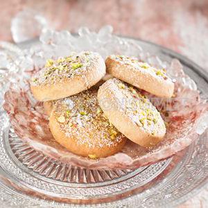 Polvorones caseros con toque de pistachos