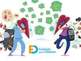 Homenaje a sanitarios y personas con diabetes: #diabAvengers