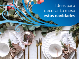 Ideas para decorar tu mesa estas navidades