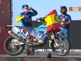Daniel Albero, primer piloto con diabetes en terminar el Rally Dakar