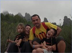 Lo que yo más quiero, mi familia, Laura, Arnau y Carlota