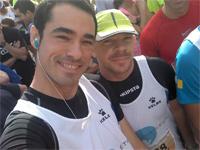 Miguel Tovar y Tomás Fuertes dos miembros del equipo Diatlétic