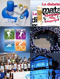 discurso sobre las fotos del día mundial de la diabetes