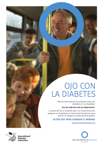 Cartel 1 Campaña Ojo con la Diabetes