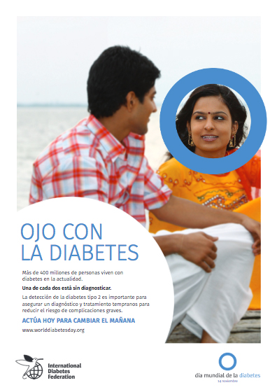 Cartel 2 Campaña Ojo con la Diabetes