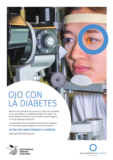 Cartel 3 Campaña Ojo con la Diabetes