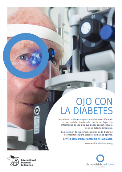 Cartel 4 Campaña Ojo con la Diabetes