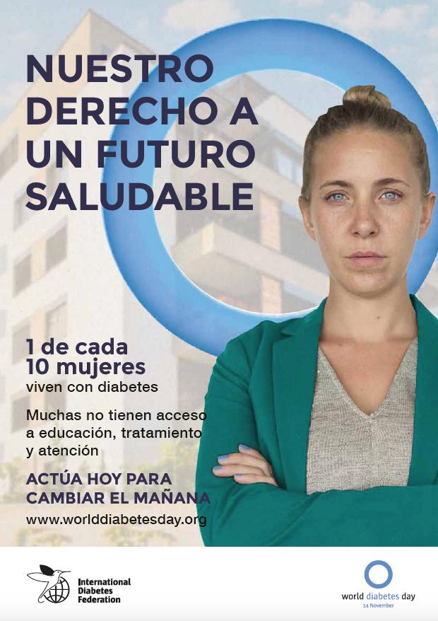 Cartel 1 Carteles Campaña Las Mujeres y la Diabetes
