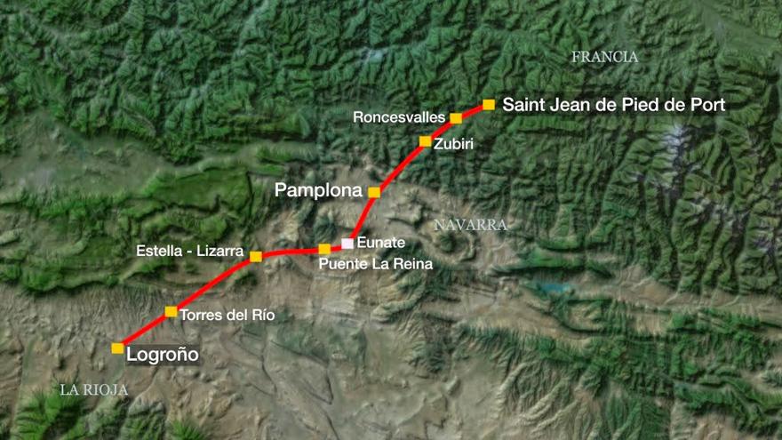 Ruta Camino Navarro