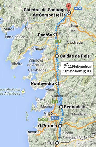 Ruta Camino Portugués
