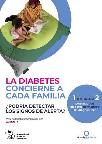 Cartel 2 Campaña Las Mujeres y la Diabetes