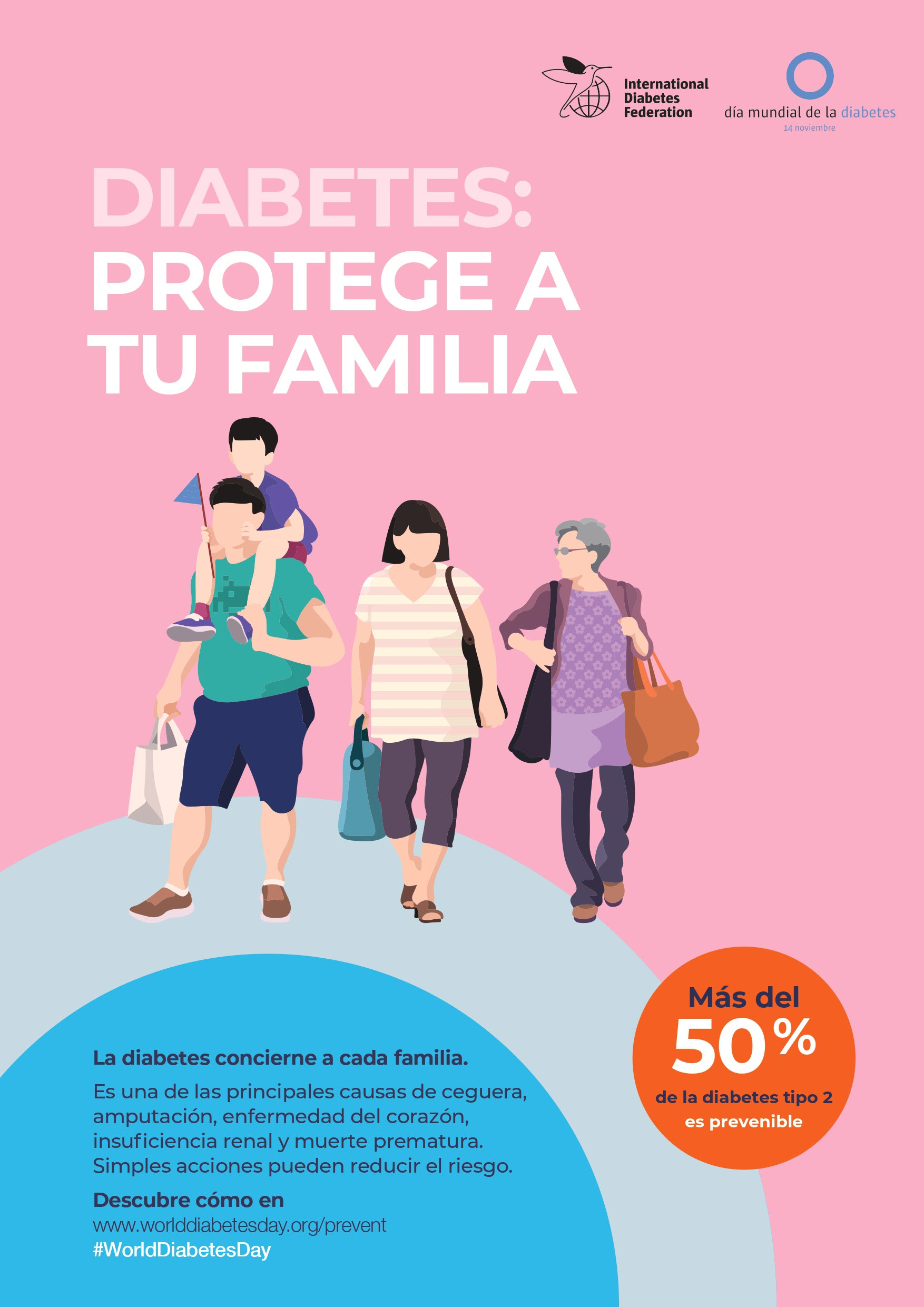 campaña de defensa y diabetes