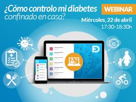 Webinar - ¿Cómo controlo mi diabetes en casa?