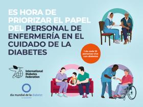 Día Mundial de la Diabetes:El año del personal de enfermería