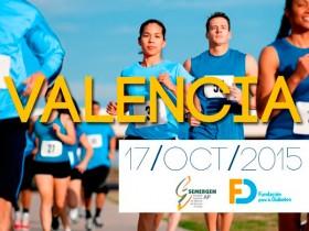 Muévete por la diabetes, también en Valencia ¡Inscríbete!