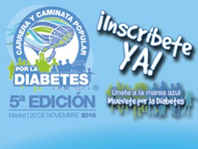 ¡Abierta la inscripción! 5ª Carrera y Caminata Popular por la Diabetes