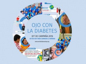 Materiales para la campaña Día Mundial de la Diabetes 2016