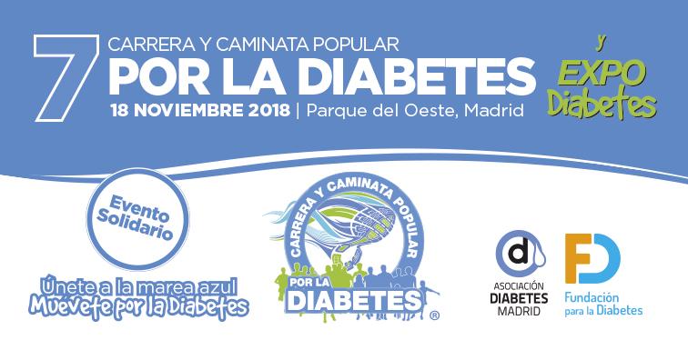 ¡Muévete por la Diabetes en Madrid! ¡Inscripciones abiertas!