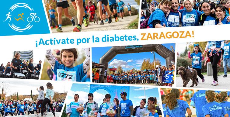¡Así lo pasamos en Actívate por la Diabetes, Zaragoza!