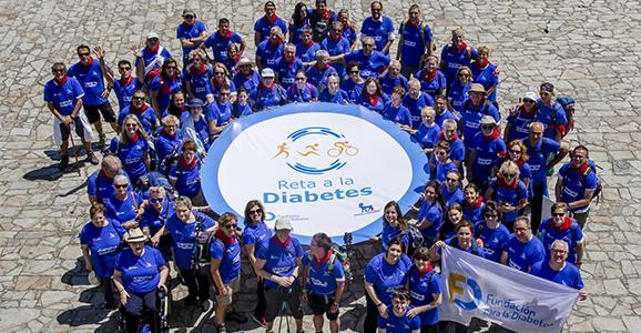 Camina por la Diabetes a Santiago. ¡¡Reto conseguido!!