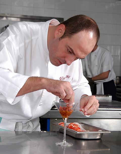 El chef Iñigo Urrechu