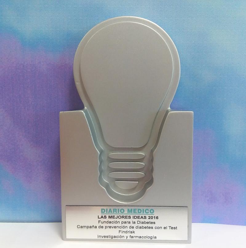 Premio Mejores Ideas 2016 de Diario Médico