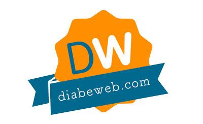 Sello distintivo otorgado por Diabeweb a la página de la Fundación para la Diabetes