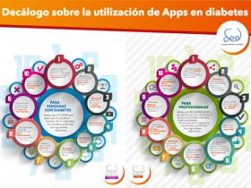 Décalogo sobre la utilización de Apps en diabetes. Consejos para profesionales y personas con diabetes de la SED