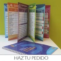 Pasos a seguir para hacer el pedido de la tabla de raciones de hidratos de carbono en formato impreso