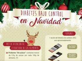 Diabetes bajo control en Navidad